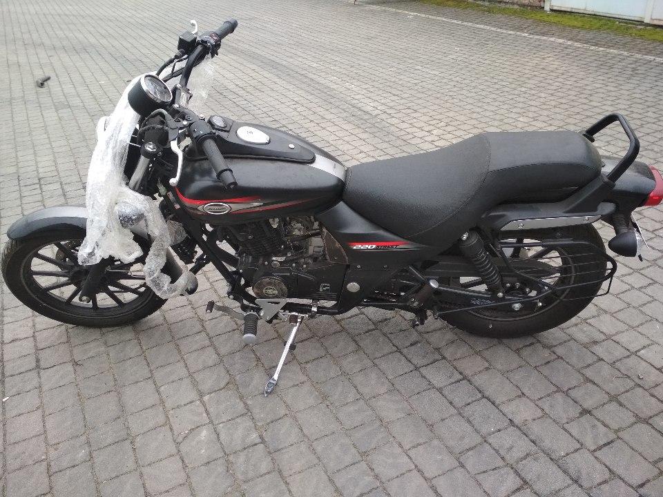 Мотоцикл Bajaj Avenger 220, без д.н., 2017 року випуску, чорного кольору, VIN №MD2A22EY8GCG05172