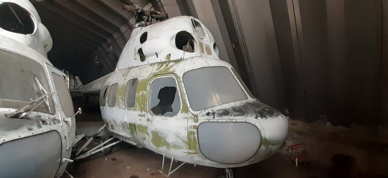 Вертоліт МИ-2 UR-14119 заводський номер 5210830029, 21.02.1989 року випуску