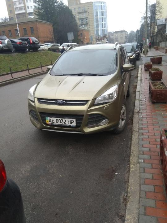 Автомобіль легковий марки FORD, моделі KUGA, 2015 р.в, державний номерний знак АЕ0032НР, VIN: WF0AXXWPMAFY64494