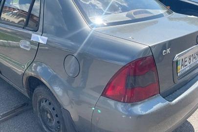 Автомобіль легковий марки GEELY, модель CK 1.5L, 2012 року випуску, державний номер АЕ8149НС, VIN: L6T7524S4DN006045