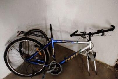 Велосипед синього кольору у кількості 1 шт