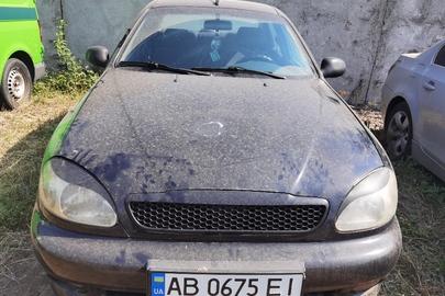 Транспортний засіб ЗАЗ LANOS, 2010 року випуску, ДНЗ АВ0675ЕІ, номер кузову: Y6DTF69Y0B0249942
