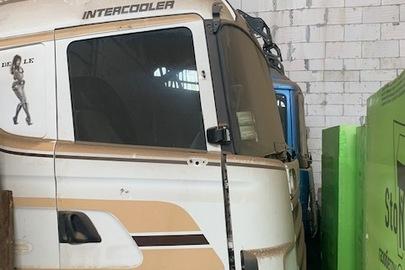 Колісний транспортний засіб спеціалізований вантажний сідловий тягач – E SCANIA 124.420, 2000 р.в.. ДНЗ ВО2043АІ, № кузова: VLUR4X20009055622