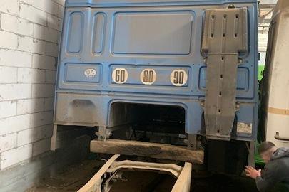 Колісний транспортний засіб спеціалізований вантажний сідловий тягач – E DAF 95 XF 380, 2000 р.в., ДНЗ ВО7206АІ, №кузова: XLRTE47XS0E532483