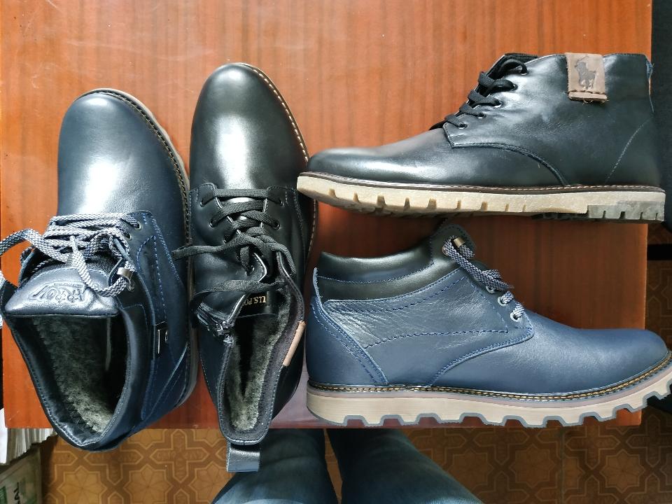 Чоловіче взуття (різних розмірів) демісезонне «Осінь- Зима» - 19 пар