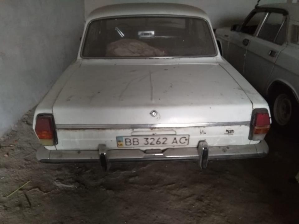 Легковий автомобіль: ГАЗ-24 ,1982 р.в., ДНЗ: ВВ3262ВВ, білого кольору, VIN: 817357807610