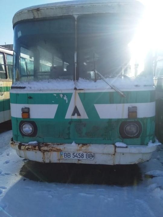 Автобус (пасажирський): ЛАЗ-699Р, 1994 р.в., білого кольору, ДНЗ: ВВ5458ВВ, VIN: ХТW699Р00R0033462