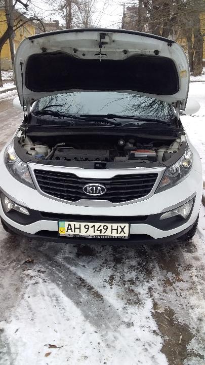 Легковий автомобіль: KIA SPORTAGE, 2012 р.в., ДНЗ: АН9149НХ, білого кольору, VIN: U5YPB811BDL202629.