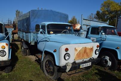 Вантажний автомобіль (бортовий) ГАЗ-53, 1991 р.в., ДНЗ: ВВ0548АК, синього кольору, номер кузова (шасі, рами): ХТН531900М1376440