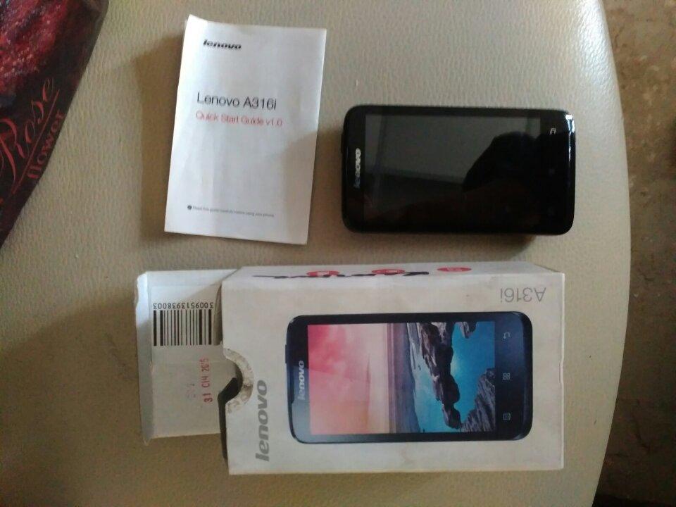2 поз. рухомого майна (б/в): 1.Мобільний телефон чорного кольору Lenovo А316i, 2. Блендер Skarlet SI-1542 чорного кольору