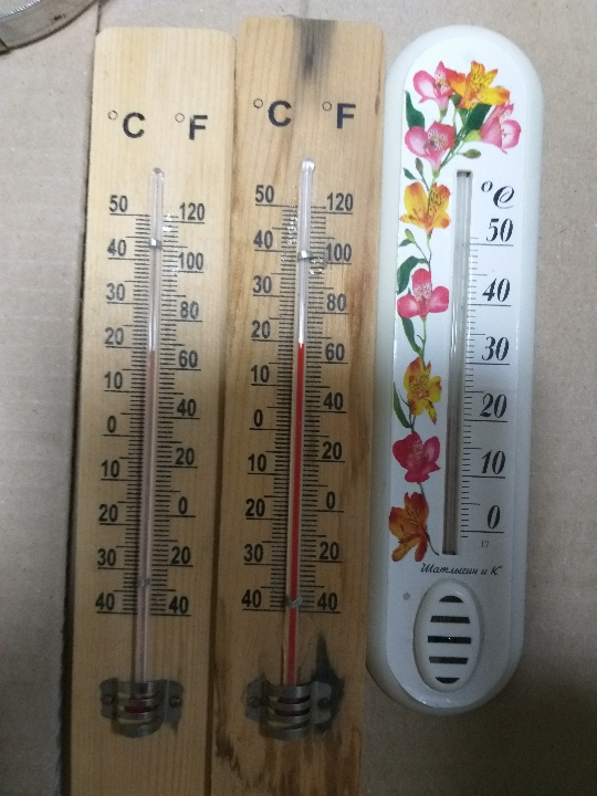 Термометр, в кількості 3 шт., б/в