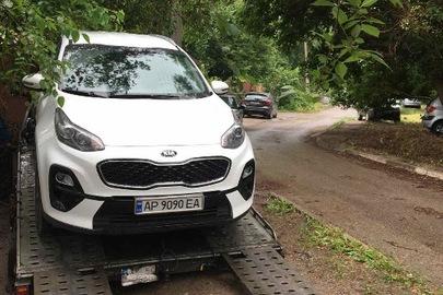 Легковий автомобіль KIA SPORTAGE, ДНЗ АР9090ЕА, 2018 р.в., кузов №U5YPG812AKL607206
