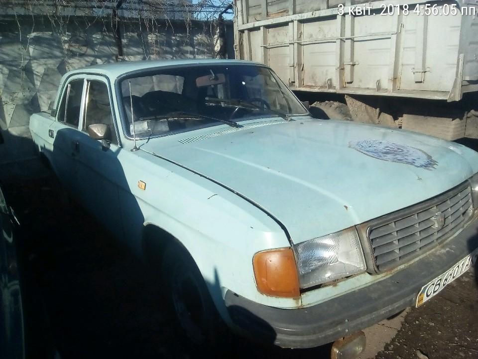 Автомобіль ГАЗ 31029, 1993 року випуску, зеленого кольору, ДНЗ СВ6901АК, номер кузова:330825/4600Р0063206