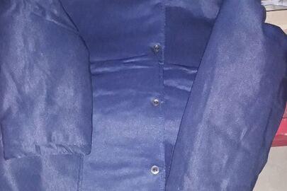 Куртки ватні фіолетового кольору в кількості 28 штук