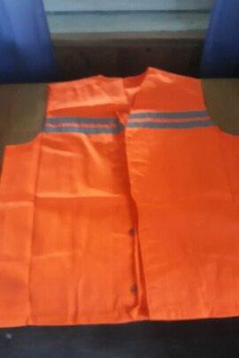 Жилети сигнальні оранжового кольору 110 штук