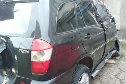 Легковий  автомобіль CHERY TIGGO, 2007 р.в., № кузова: LVVDB14B97D073633, р.н. АС3725ВО, після ДТП